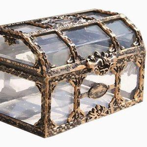 Transparent  Treasure Box  Crystal Gem/